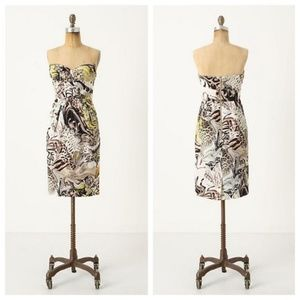 Anthropologie Panthers Play Dress